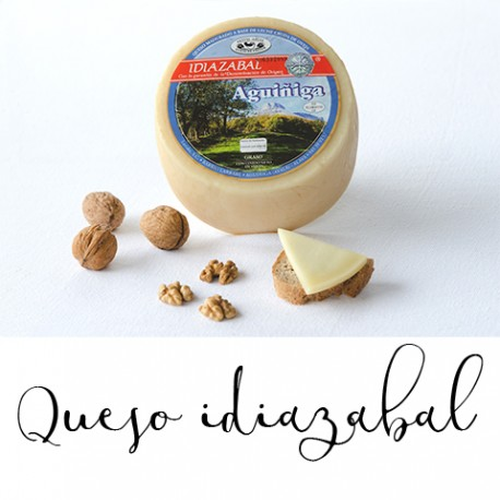 Queso Idiazabal natural