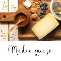 Medio queso D.O. Idiazabal de Aguiñiga