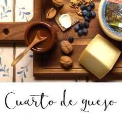 Cuarto de queso D.O. Idiazabal de Aguiñiga