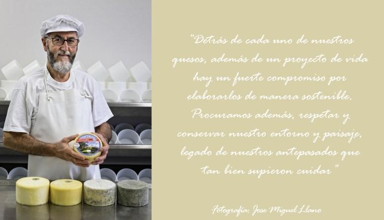 Quesería Aguiñiga, Jose Ramón